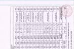 Bảng tổng hợp kết quả xét nghiệm nước thành phẩm tuần 1 tháng 11 năm 2020