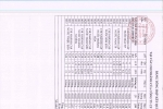 Bảng tổng hợp kết quả xét nghiệm nước thành phẩm tuần 2 tháng 11 năm 2020